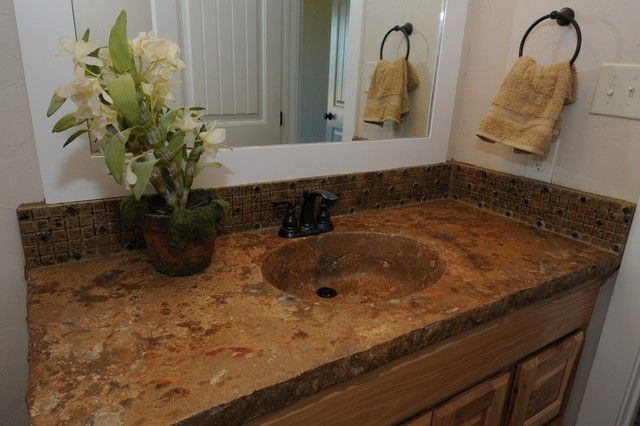 Bathroom Countertops With Integrated Sinks Ideas Pinterest - Integrated sink countertop bathroom