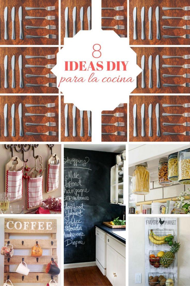 8 ideas DIY para la cocina ➜ Pequeñas ideas para revolucionar tu ...
