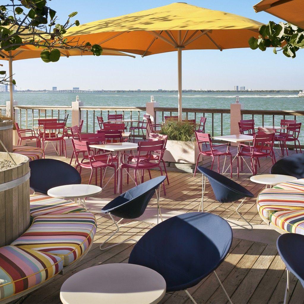 El Lydo Restaurant y Bayside Grill en The Standard es el