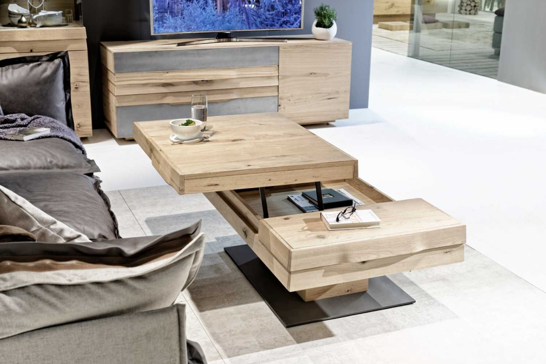 Table De Salon Design En Bois Convertible Organo Au Design Allemand Table De Salon Design Table De Salon Table Basse
