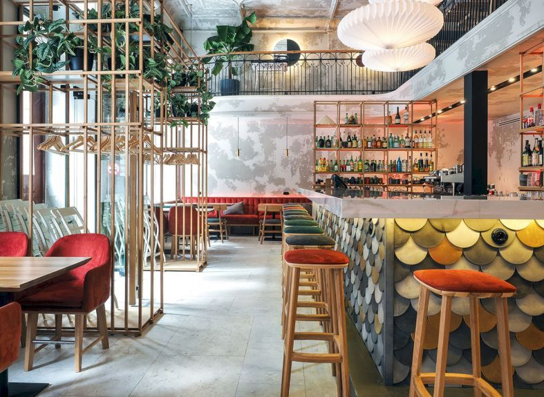 Made In China Cafe Modern Interior Design Of An Asian Cafe With