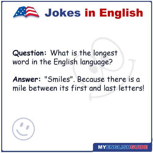 Jokes english simple in 50 Short,