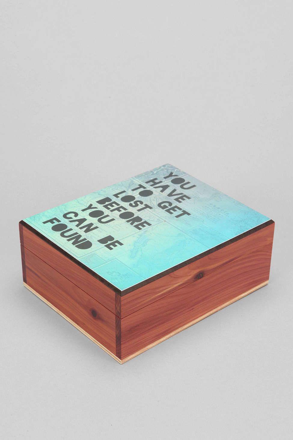 Get Lost Artist Series Wooden Stash Box Stash box