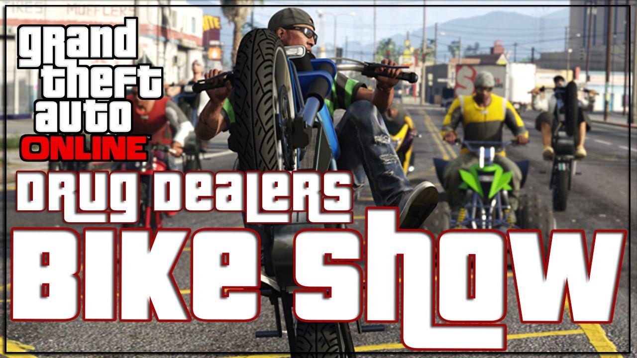 GTA 5 Online Biker DLC Drug Dealer BIKE SHOW http://onlinetoughguys.com/gta-5-online-biker-dlc-drug-dealer-bike-show/ https://www.youtube.com/watch?v=aZd5lvpHZRU #GTA5Bikers #GTA5DLC #GTAVDLC #GTA5 #GTAV
