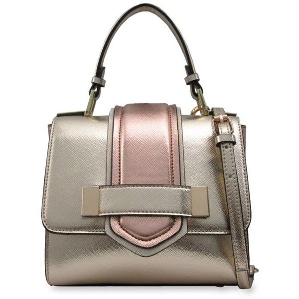Chinese Laundry Arlene Mini Satchel 49 Liked On Polyvore Featuring Bags Handbags Brown