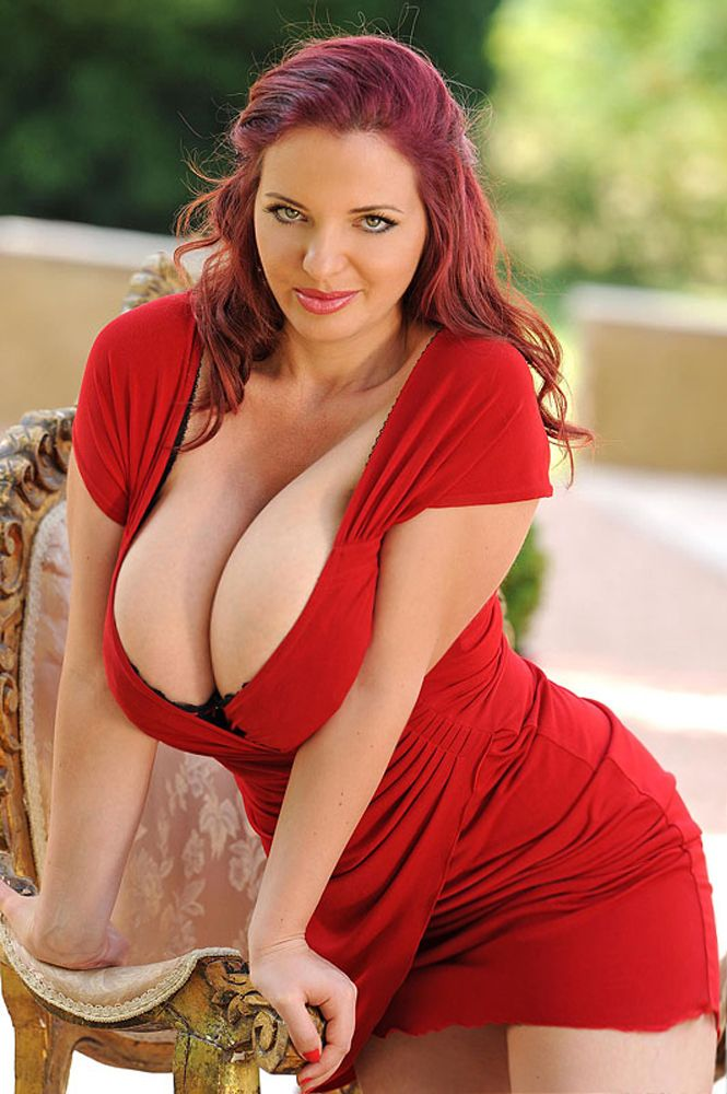 Curvy kat women boobs redhead mature big