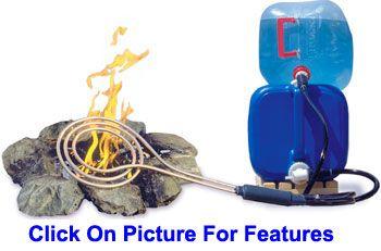 Zodi Fire Coil Camp Water Heater Camping Camping