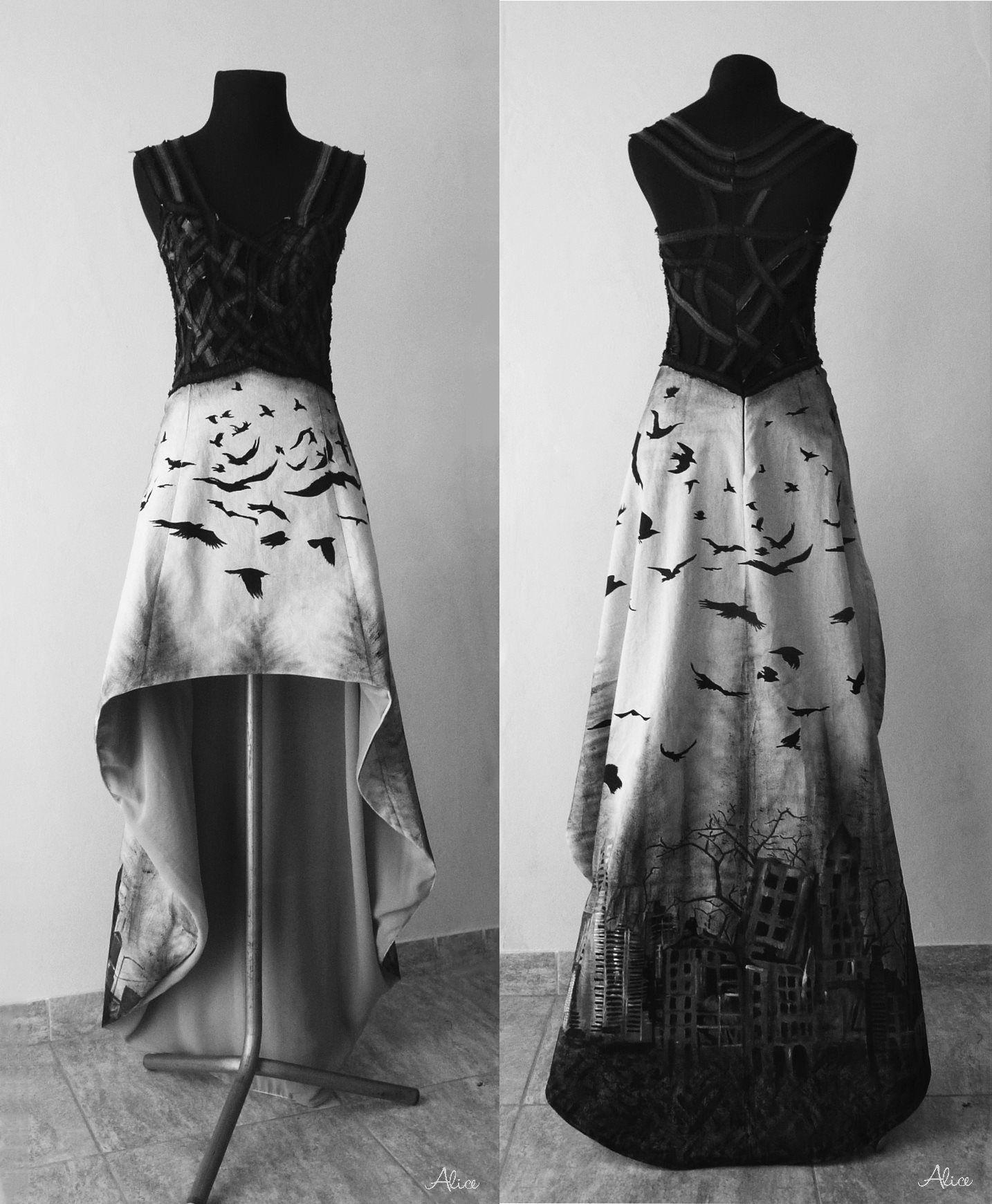 Katatonia inspired dress by alice dz dresses pinterest alice