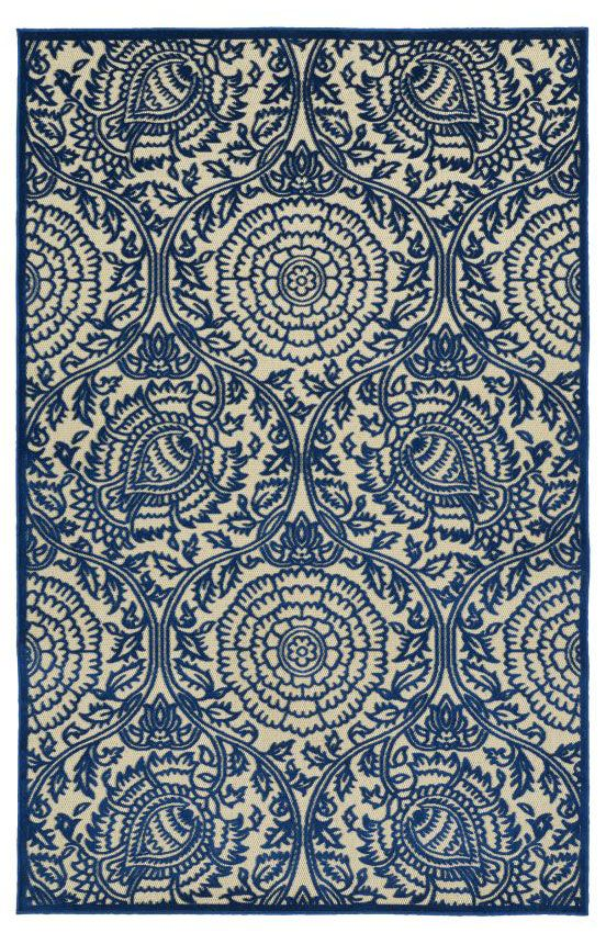 5 Off when you share! Kaleen Five Seasons FSR102 Navy Rug