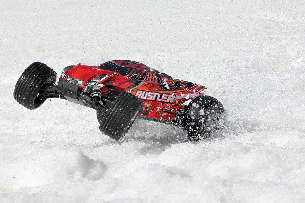 Rustler Vxl 1 10 Scale Stadium Truck With Tqi Traxxas Link Enabled 24ghz Radio System