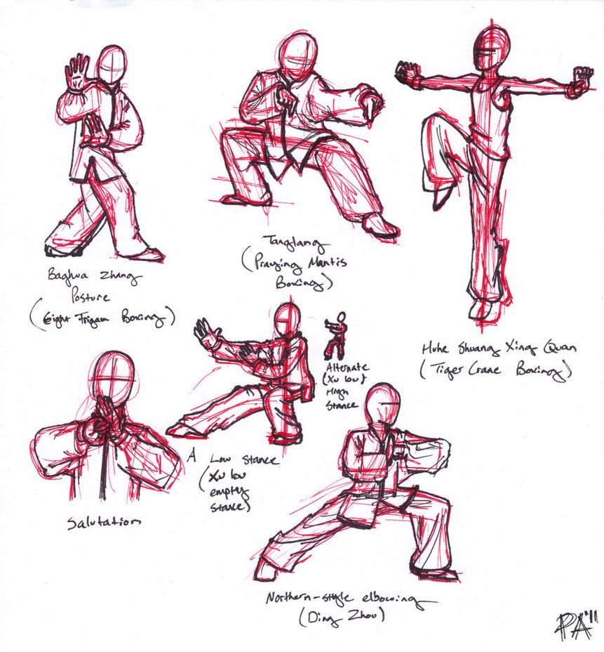 Kung fu forms by fischotterchen kung fu martial arts