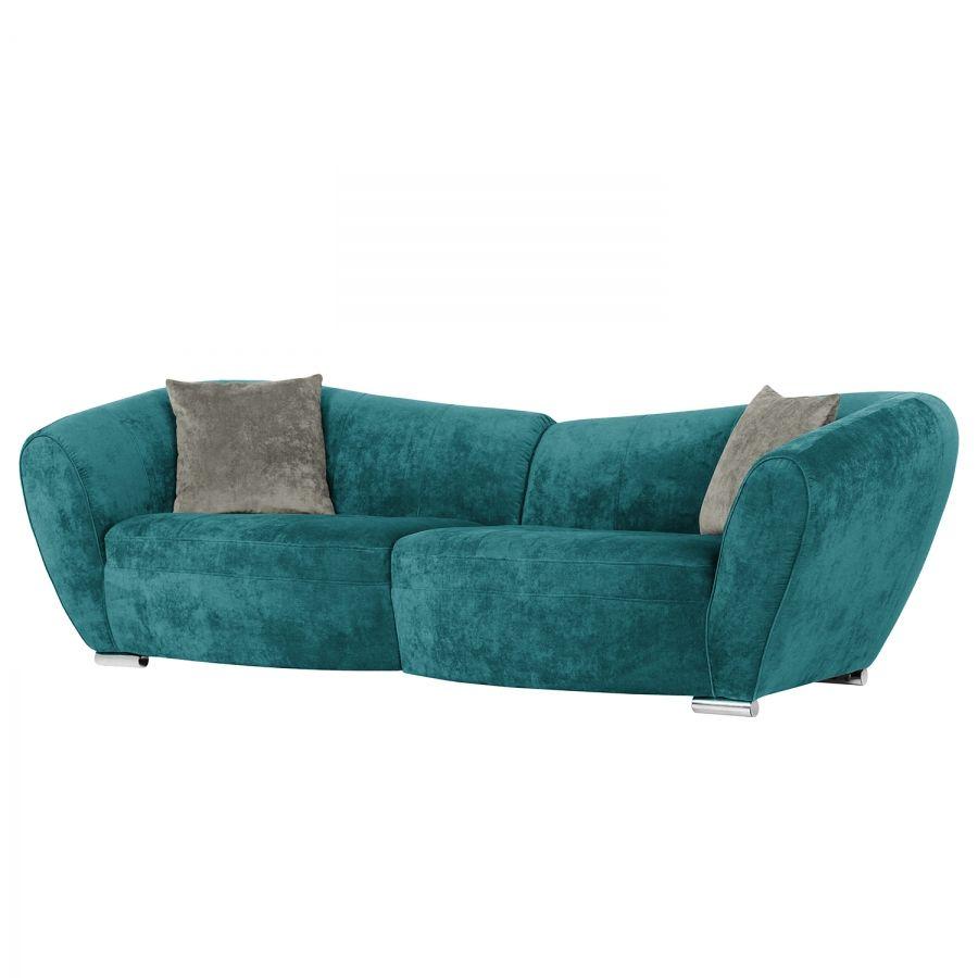 Bigsofa Minetto Microfaser Petrol Canape Sofa Sofa