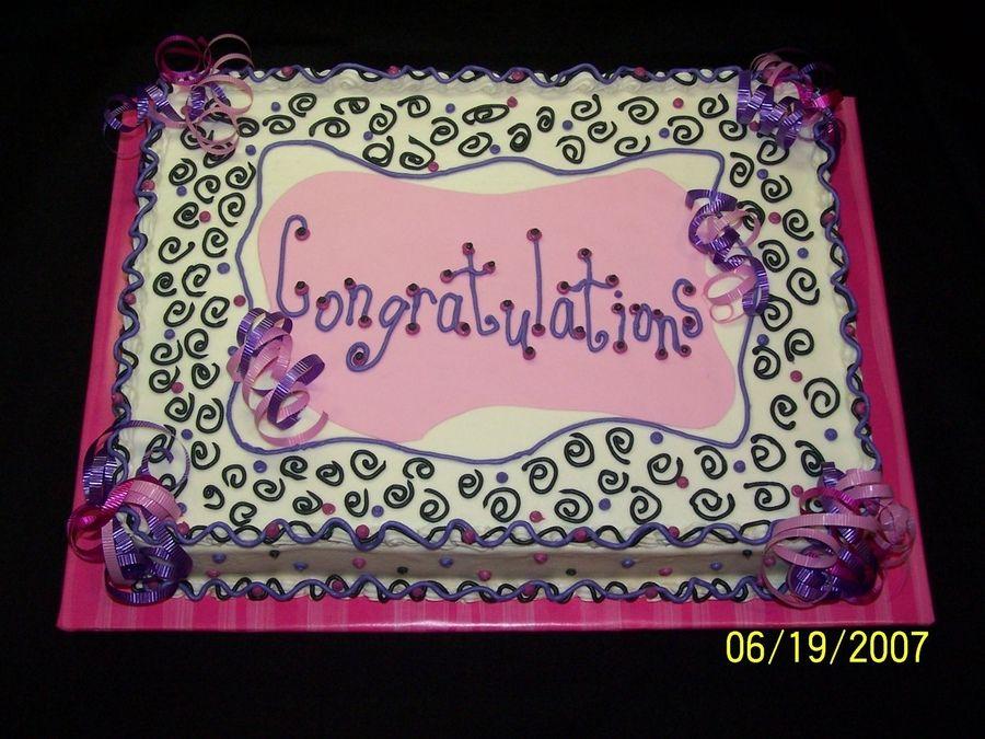 Congratulations Cake Messages Congratulations Cake Got The Idea