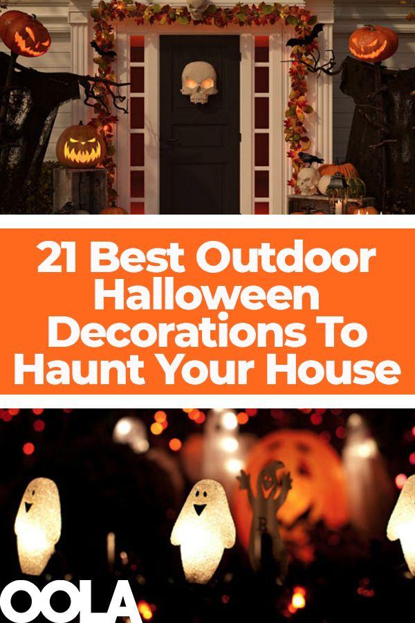 21 Best Outdoor Halloween Decorations To Haunt Your House