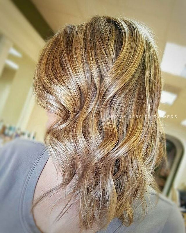 Base Bump Shadow Root Baby Lights Balayage Color Melt Hair By