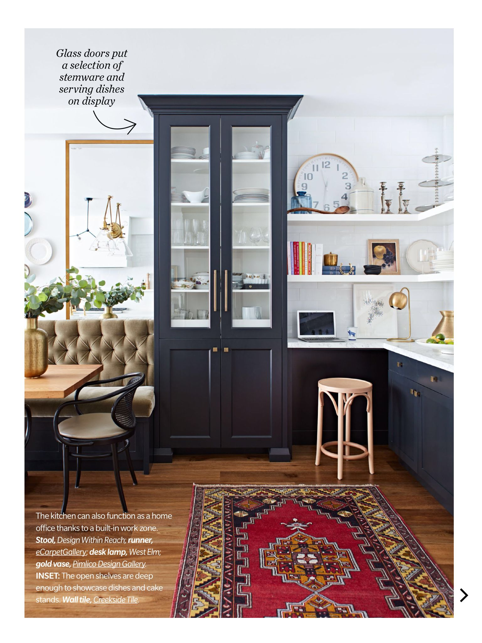 kitchen magazine vanity with sink special from house home october 2017 read it on the texture app unlimited access to 200 top magazines