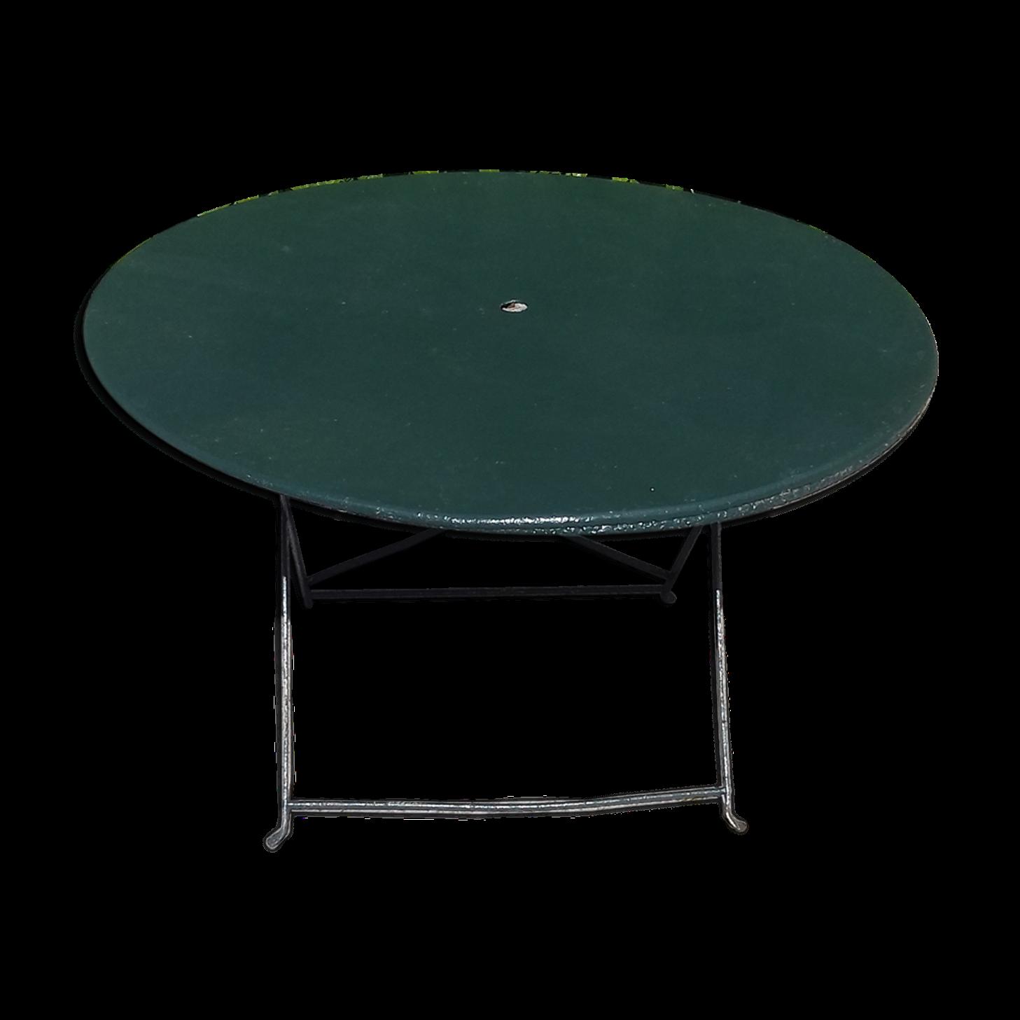 Table Ronde De Jardin Pliante En Fer With Images Folding Table Table Home Decor