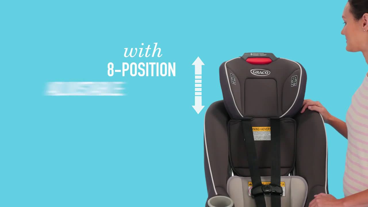 Graco ContenderTM 65 Convertible Car Seat Ad Commercial On TV 2018