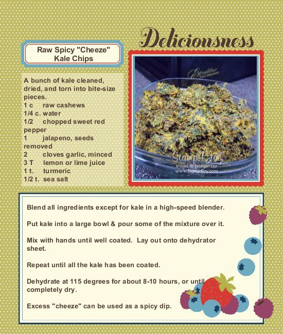 digital recipe book template with photo google search