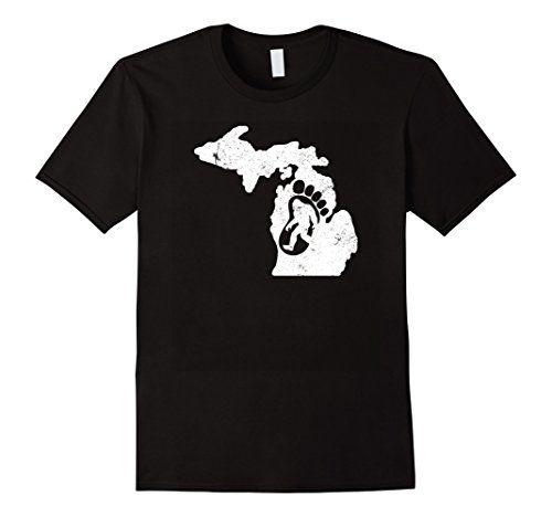 Men's Michigan Hunting Bigfoot Tee Shirt & Sasquatch Tee Shirt Small Black Shoppzee Bigfoot Tee http://www.amazon.com/dp/B01DX0VP4I/ref=cm_sw_r_pi_dp_DQzcxb0VB49D0