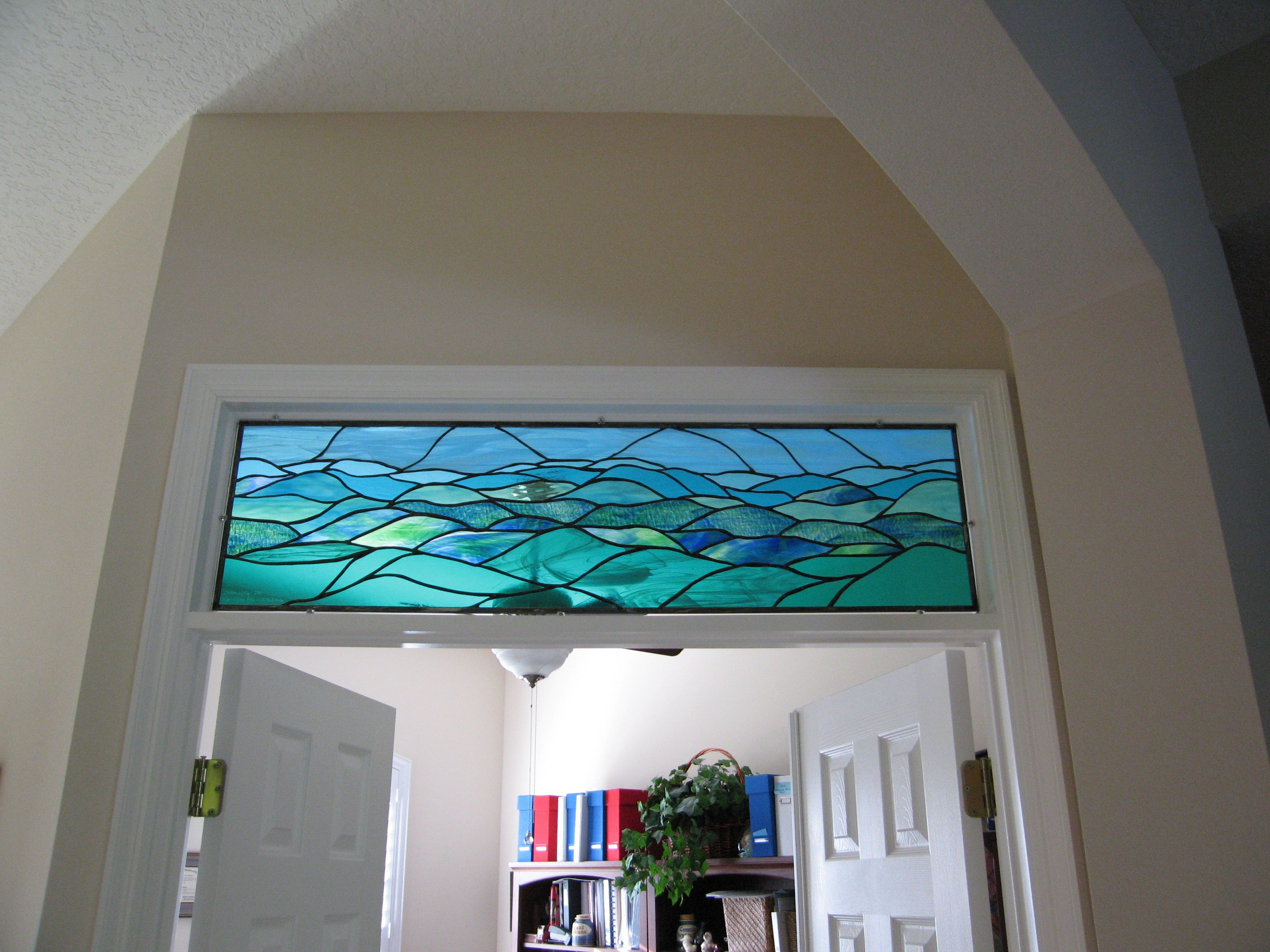 I Made This Stained Glass Window This Year Meant To Represent The