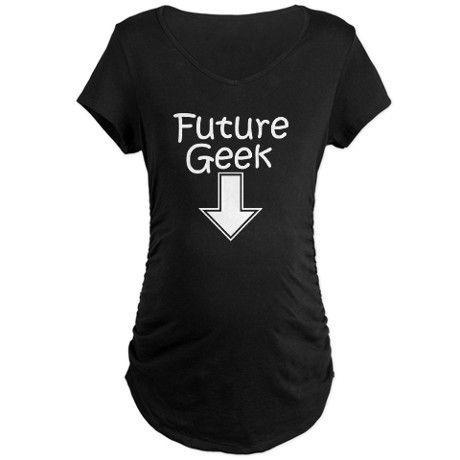 t shirt femme enceinte geek