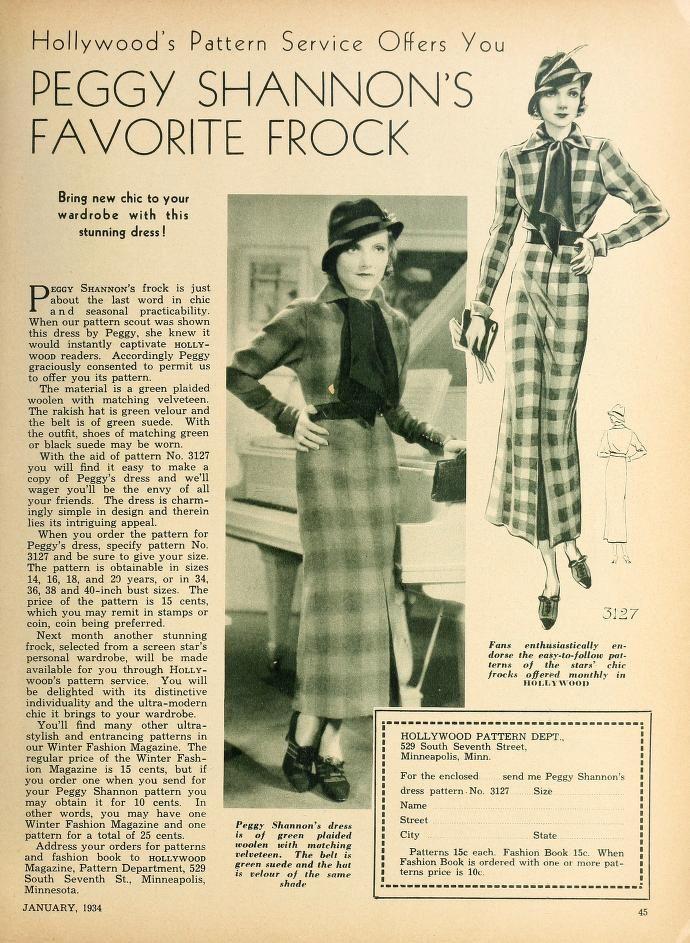 Hollywood (Jan-Oct 1934)