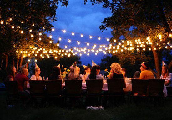Outdoor Fairy Lights   TV Outdoor Lighting   Pinterest ...