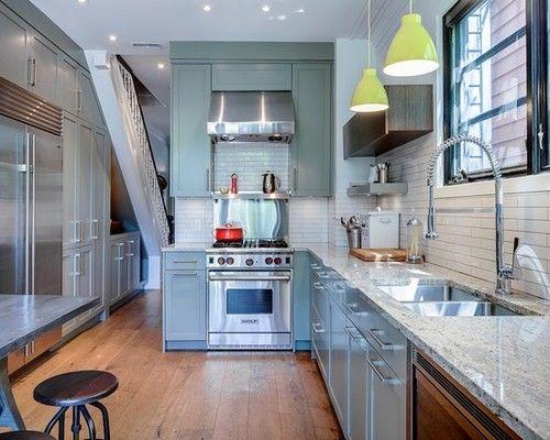 Masculine chic cabbagetown contemporary kitchen toronto beauparlant design inc also home decor pinterest houzz and kitchens rh