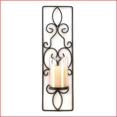Flameless Candle Wall Sconce $1595 Per Sconce  Decorations Pleasing Candle Wall Sconces For Dining Room Design Decoration