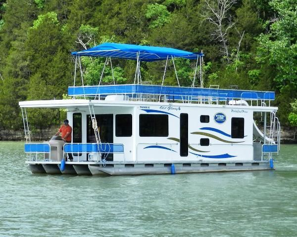 Used 2007 Houseboat Custom Pontoon Houseboat, Dale Hollow