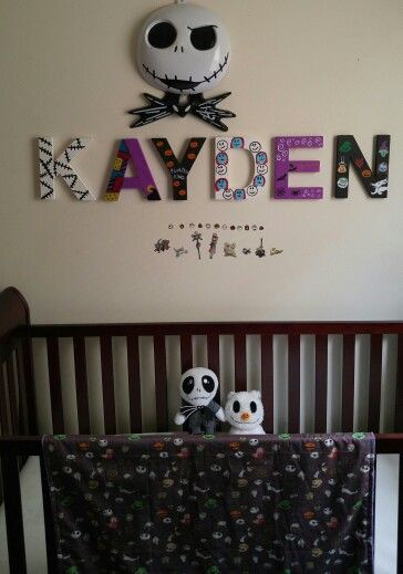 Nightmare Before Christmas Nursery Baby Nightmare Before