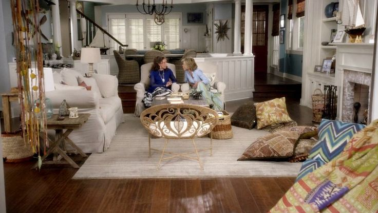 wallpaper from Grace and Frankie  Google Search  Home  Pinterest  Living room pillows