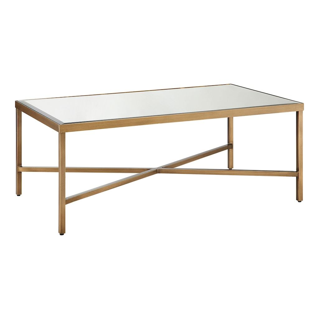 Madison Park Brandy Mirrored Coffee Table Kohls Mirrored Coffee Tables Coffee Table Coffee Table Rectangle [ 1024 x 1024 Pixel ]