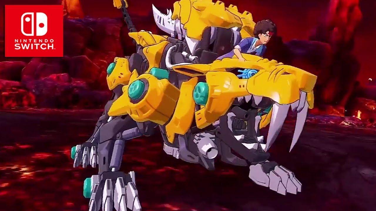 El mecha Fang Tiger protagoniza el último tráiler de Zoids
