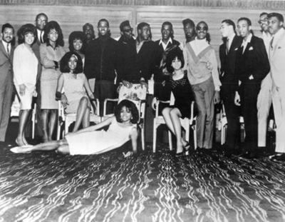 The Original Motown Artist See Diana Ross Posing On The Floor