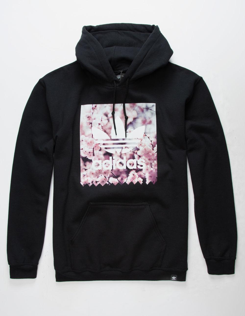 Predownload: Adidas Cherry Blossom Blackbird Mens Hoodie Black 341689100 Hoodies Men Hoodies White Sweatshirt Men [ 1286 x 1000 Pixel ]