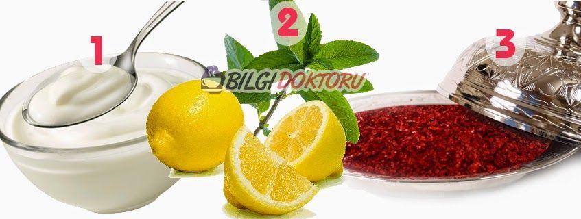 Limon, Pul Biber ve Yoğurt Kürü ile Zayıflama