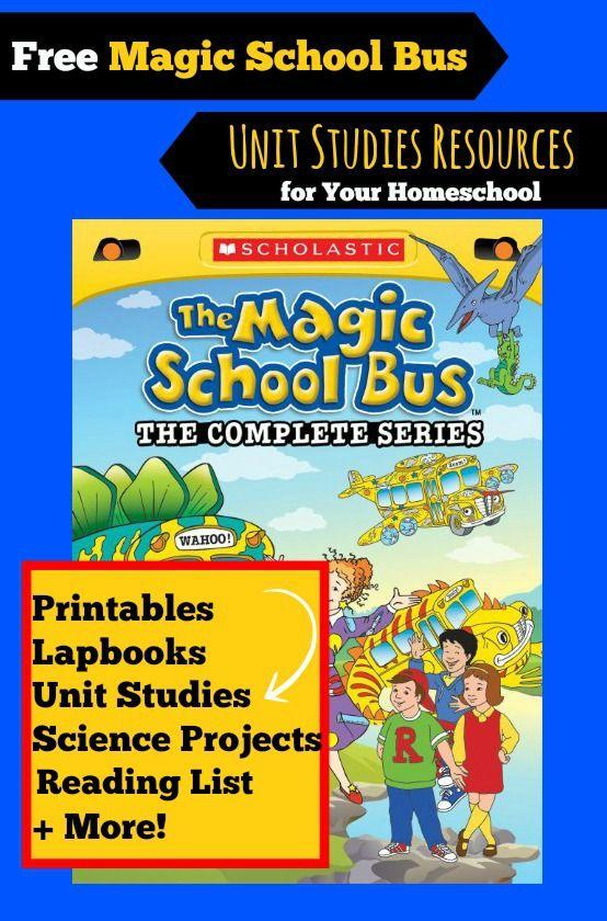 Free Magic School Bus Unit Study Resources For Homeschoolers Homeschool Study Magic School Bus Homeschool