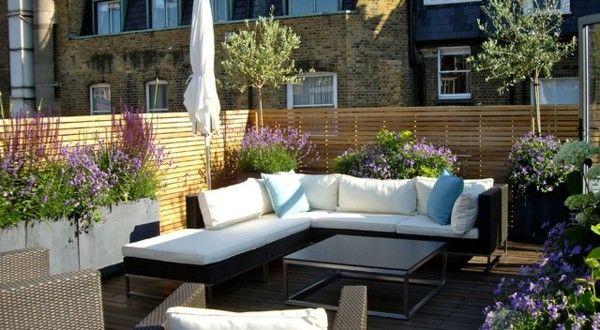 Eine Dachterrasse Gestalten ? Neue Fantastische Ideen! | Terrasse ... Terrasse Gestalten Olivenbaum