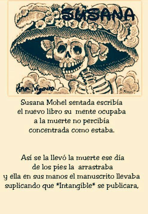 Susana Mohel Calaveritas Literarias 2015 Calaveras Literarias
