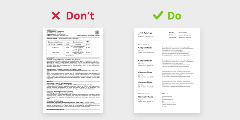 how to design your own resume in 2020