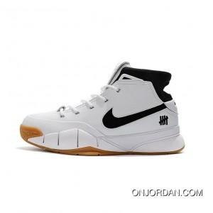 Undefeated X Nike Zoom Kobe 1 Protro White Gum Men S New Style