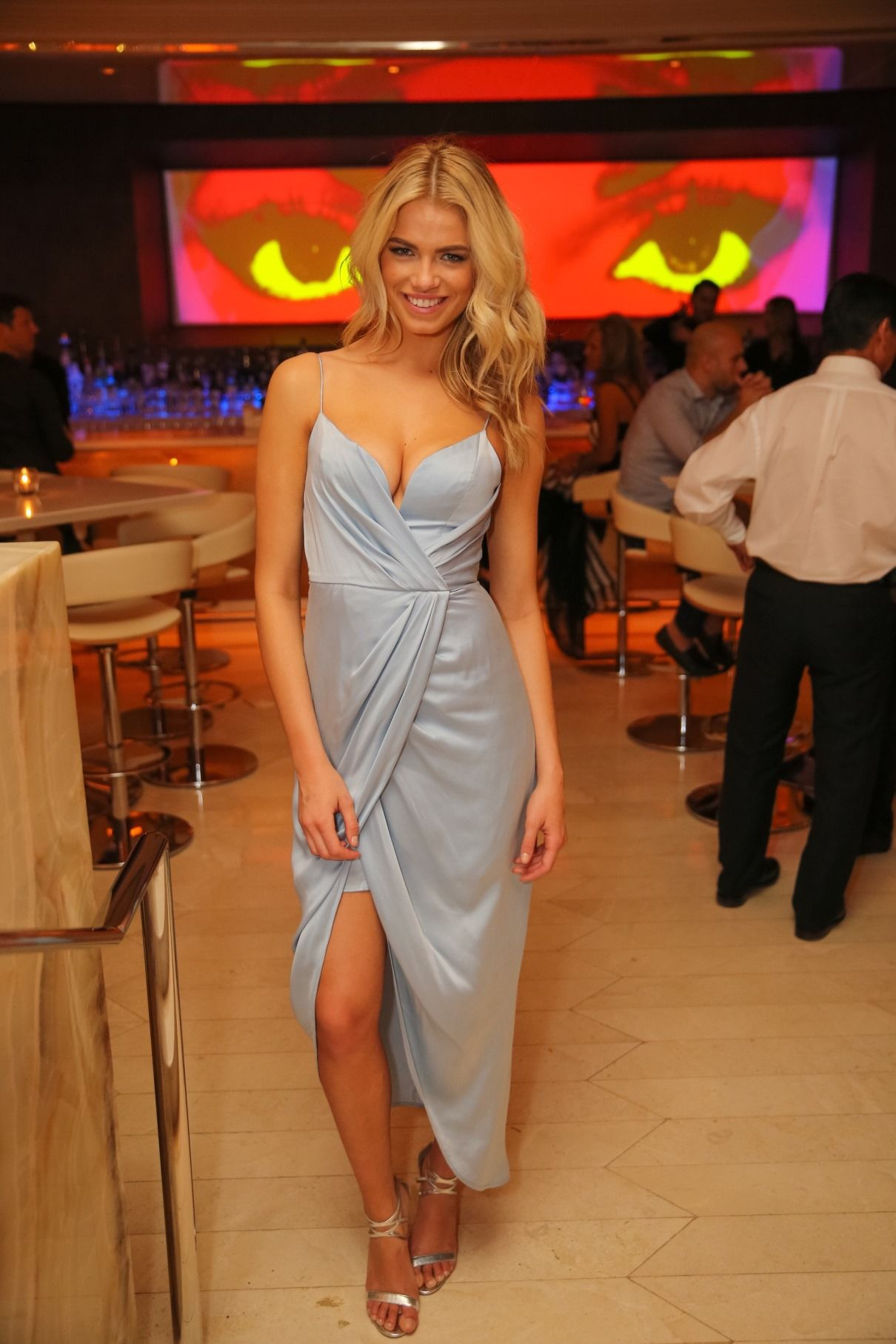 Sports Illustrated Swimsuit Issue cover star, Hailey Clauson, dined ...