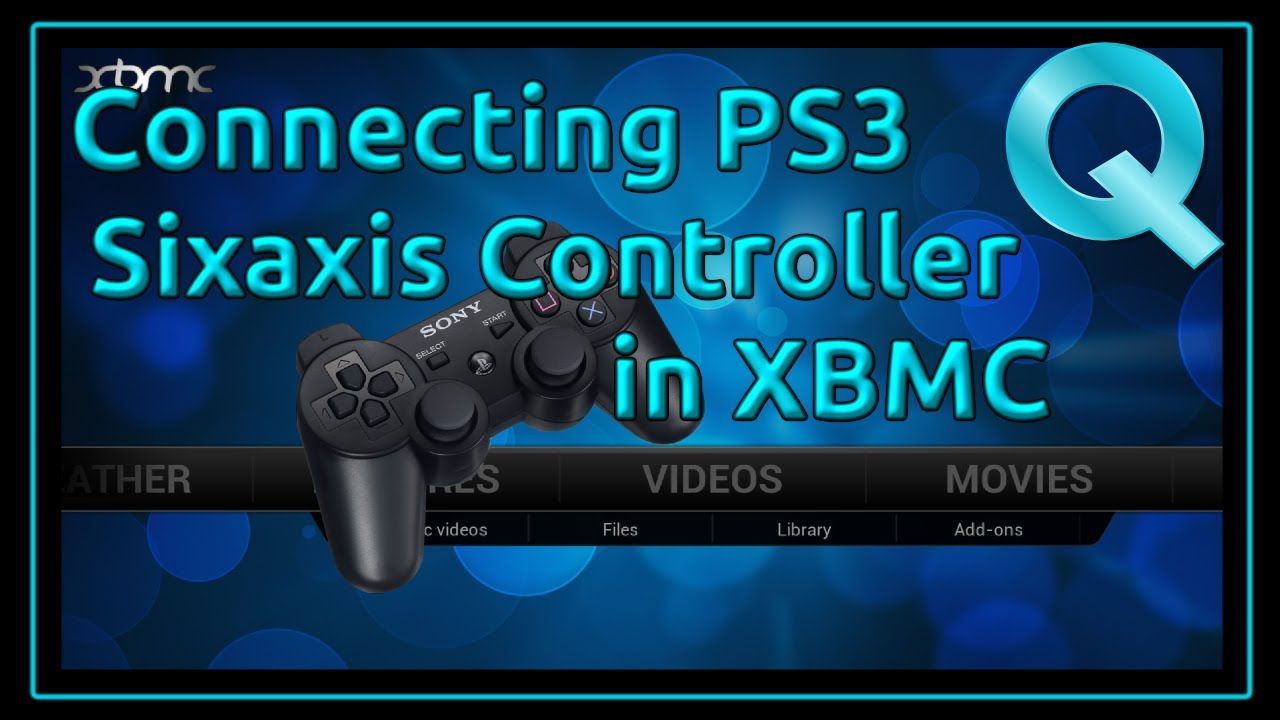 Connecting PS3 Sixaxis Controller in XBMC Linux - YouTube