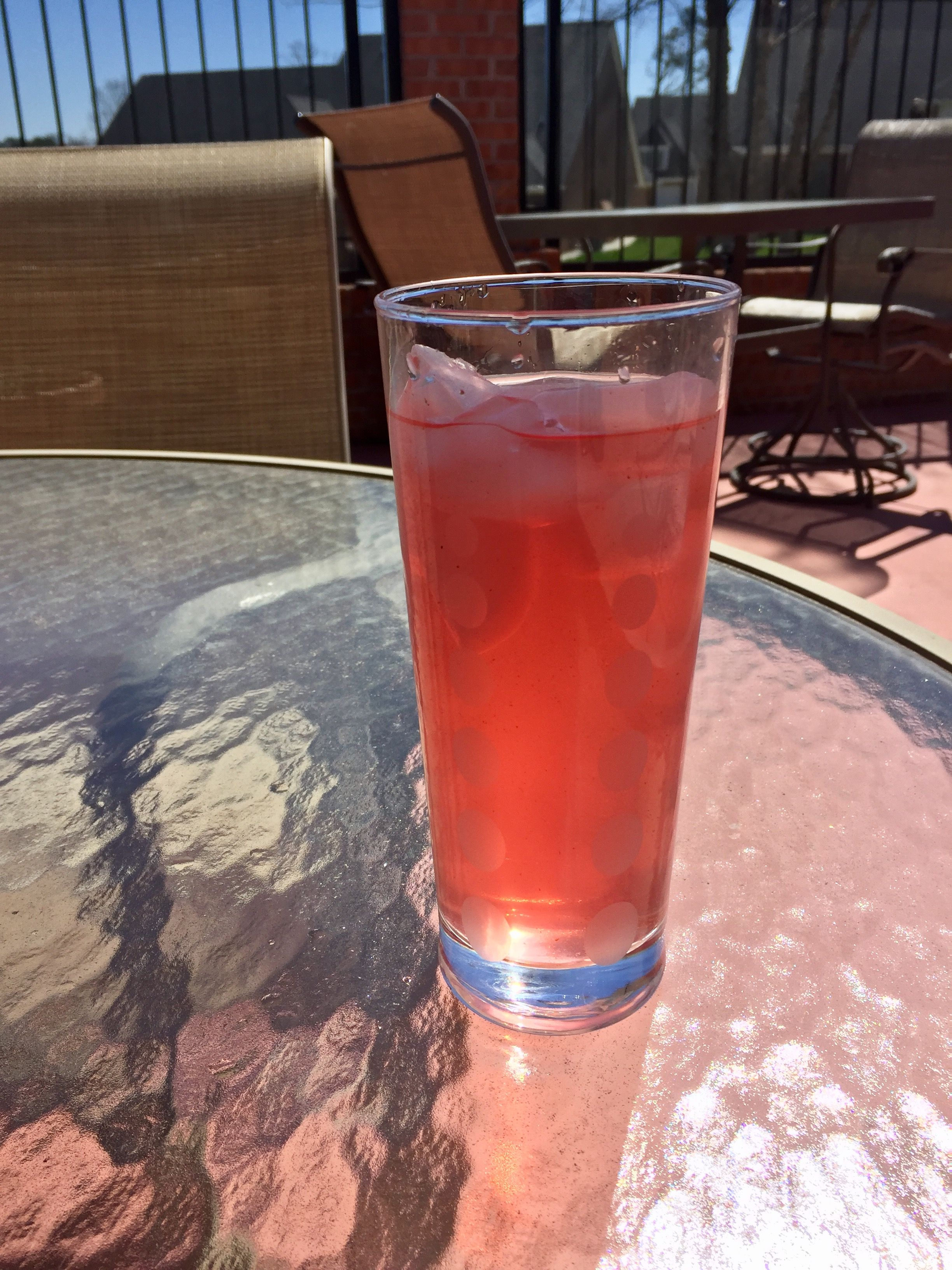 Cranberry Lemonade Sweetened With Stevia And Cayenne Pepper Very Refreshing In The Summer 1 Cup O Cranberry Lemonade Cayenne Lemonade Recipe Lemonade Recipes
