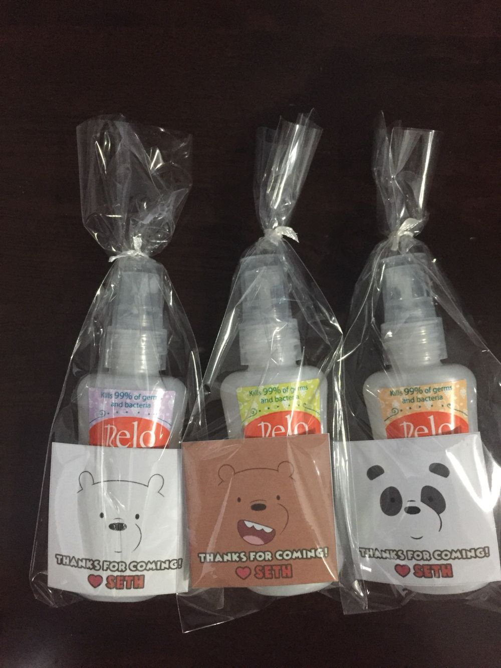 Hand Sanitizer Souvenir
