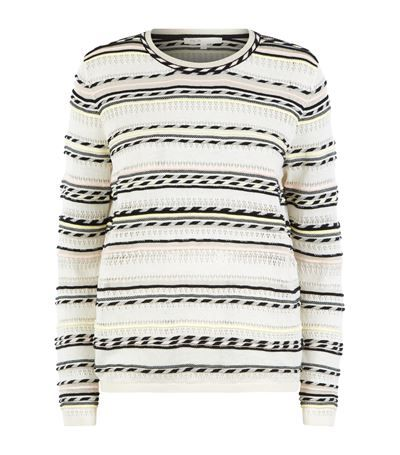 MAJE Mauritani Stripe Jumper. #maje #cloth #