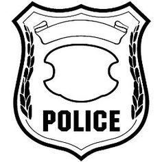 image about Printable Police Badge known as free of charge printables law enforcement - Google Glimpse BDAYS Law enforcement
