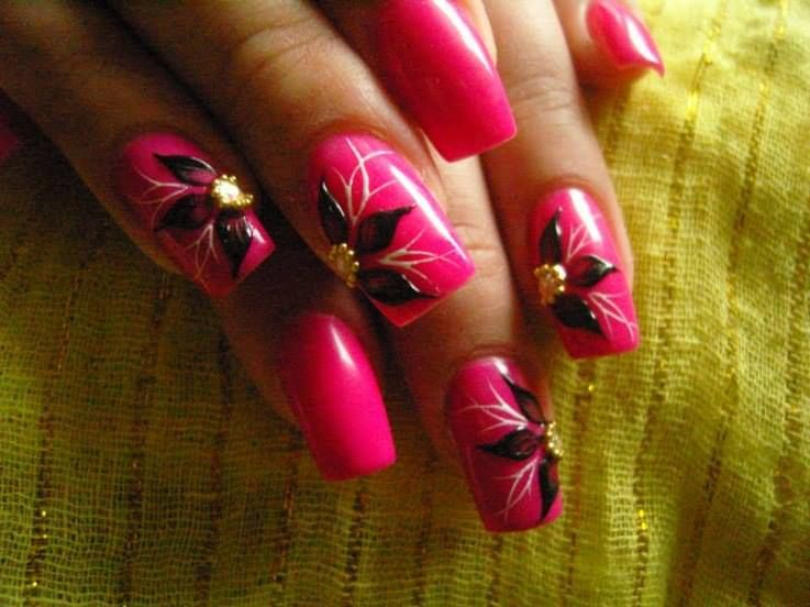 Wonderful Nail Art For Girls is all about new stylish top trendy trends.here i am going to post some wonderful and stylish nail art for girl...